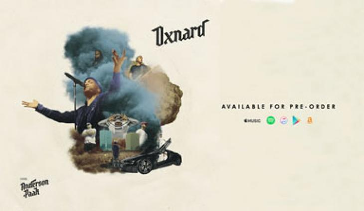 Oxnard - Anderson .Paak Available for Pre-Order